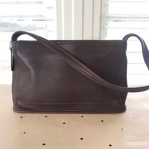 Coach Fop-9309 Brown Leather Shoulder Bag